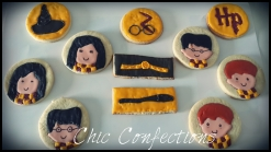 Harry Potter Theme Cookies