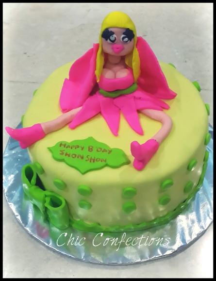 Nicki Minaj Theme Cake