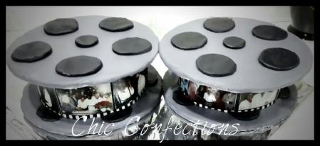 Movie Reel Cake