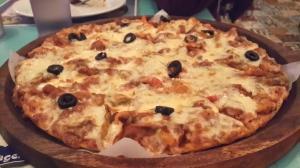 Veg. Mexicano Pizza