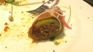 Stuffed Capsicum with Potato