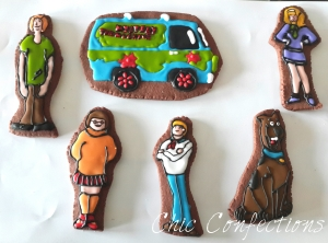Scooby Doo Theme Cookies
