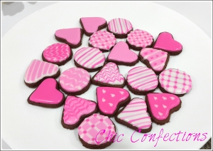 Mini Valentine's Day Cookies