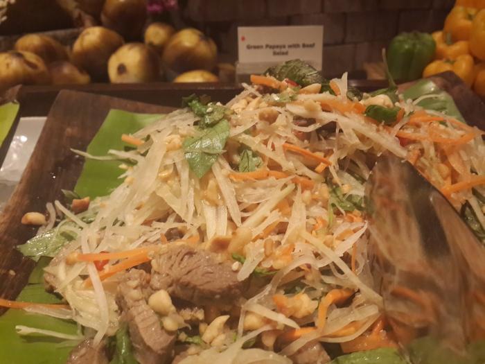 Beef and Green Papaya Salad