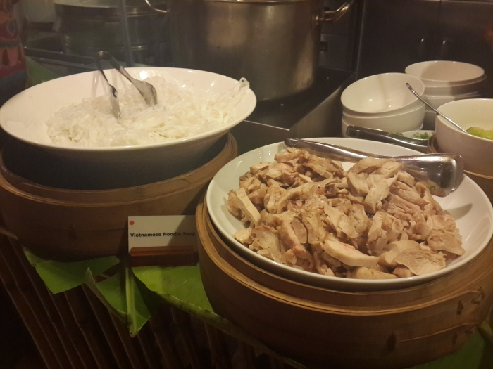 Vietnamese Noodles and Chicken