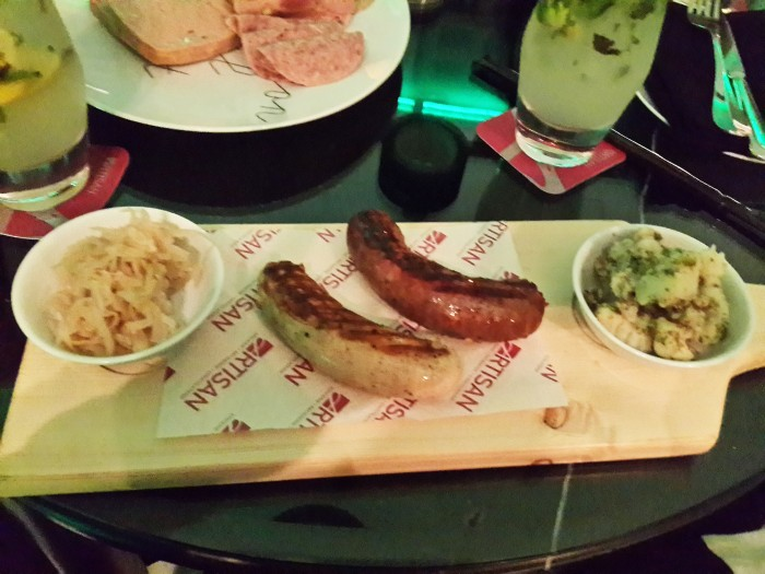 Chicken Jalapeno and Beef Chorizo Sausages