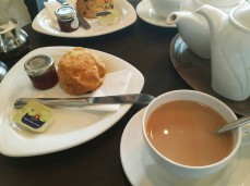 Afternoon Tea at Stokes with Scones