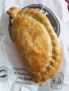 Cornish Chicken Pasty
