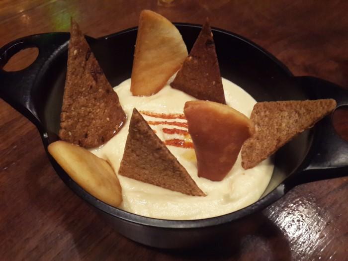 Hummus and Lavash