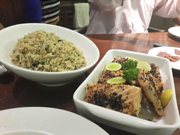 Salman with Rice