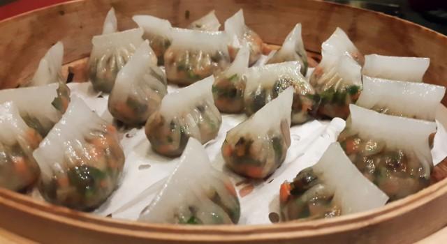 Vegetable Crystal Dumpling